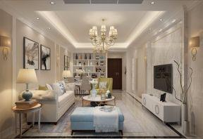 133平现代风格三居室装修效果图