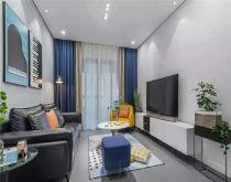 102平现代简约风格三居室装修效果图