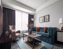 2018美式110平米装修设计 2018美式三居室装修设计图片