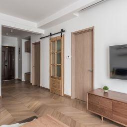 2019现代简约70平米设计图片 2019现代简约一居室装饰设计