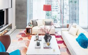 157平现代风格三居室装修效果图
