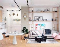 73平欧式风格两居室装修效果图