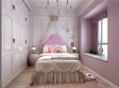唯美卧室现代装饰图片