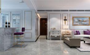 客厅白色走廊U乐国际娱乐图