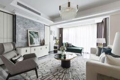 110平简欧风格两居室装修效果图