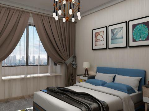 现代简约卧室窗帘u乐娱乐平台