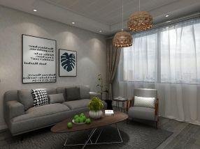 85平现代简约风格三居室装修效果图