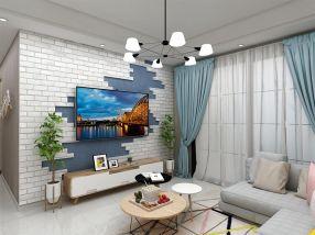 2018北欧90平米装饰设计 2018北欧三居室装修设计图片