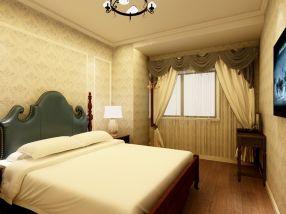 现代卧室u乐国际娱乐城室内装饰