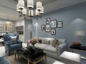 休闲米色客厅装饰效果图