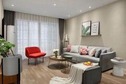 97平现代简约风格三居室装修效果图