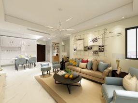 2018北欧110平米装修设计 2018北欧三居室装修设计图片