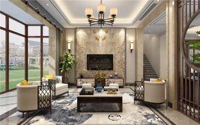 257平新中式风格别墅装修效果图