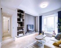 76平简约风格三居室装修效果图