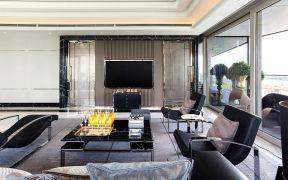 100平现代风格三室两厅装修效果图