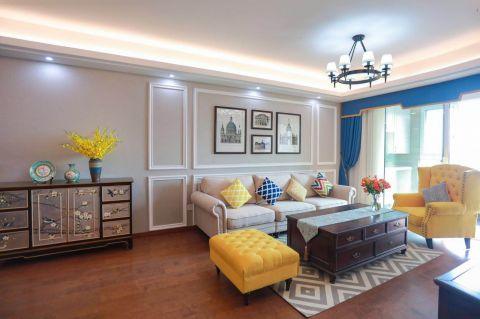 119平美式风格套房装修效果图