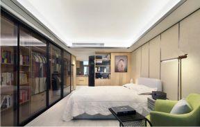 45平现代风格公寓装修效果图