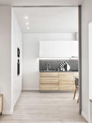 歐式廚房櫥柜設計圖片