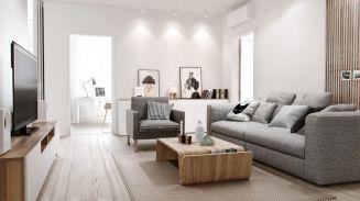 114平欧式风格三居室装修效果图