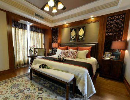2019东南亚卧室装修设计图片 2019东南亚背景墙图片