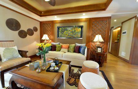 2019东南亚客厅装修设计 2019东南亚沙发装修设计
