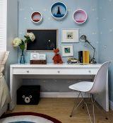富丽儿童房书桌室内装饰