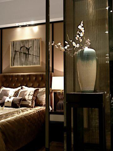 富丽咖啡色卧室案例图