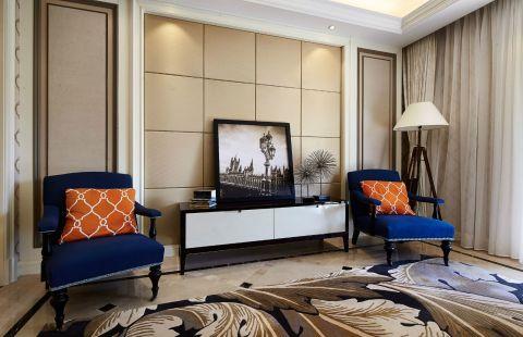 112平新古典风格套房装修效果图