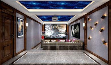 2019新中式地下室效果图 2019新中式地板装饰设计