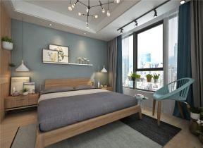 卧室窗帘简约装修实景图片