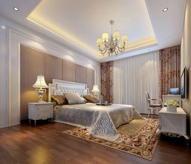 赏心悦目卧室现代简约家装设计图