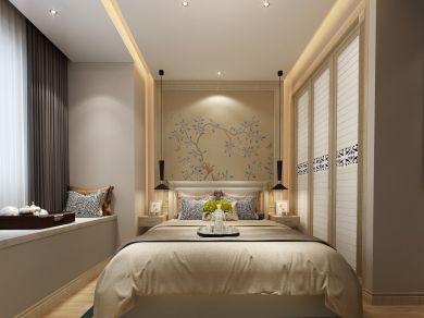 2021现代卧室装修设计图片 2021现代吊顶设计图片