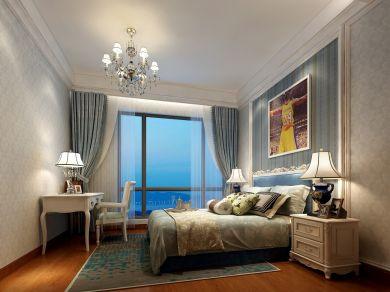 2021简欧卧室装修设计图片 2021简欧窗帘装修效果图片