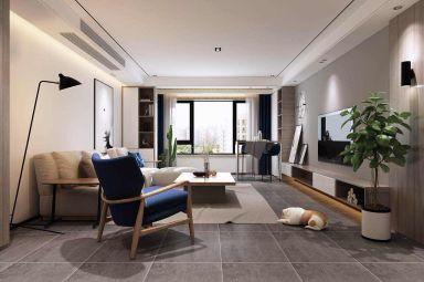 2019现代简约90平米装饰设计 2019现代简约楼房图片