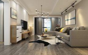 2018现代简约150平米效果图 2018现代简约三居室装修设计图片