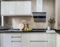 厨房一字型橱柜北欧装修案例