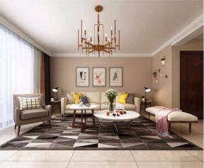2018简约110平米装修设计 2018简约三居室装修设计图片