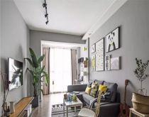 2018北欧90平米装饰设计 2018北欧二居室装修设计