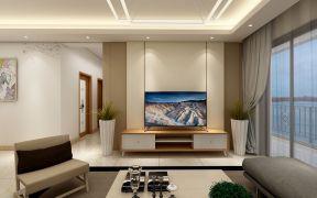 华丽客厅现代简约装修效果图欣赏