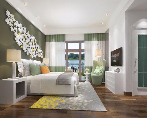 设计优雅卧室现代简约装修图