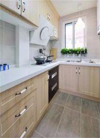 2018现代中式厨房装修图 2018现代中式橱柜装修效果图片