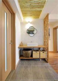 厨房橱柜现代中式装修方案