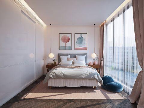 2019现代简约卧室装修设计图片 2019现代简约吊顶设计图片