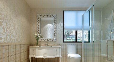 卫生间浴室柜简约室内装修设计