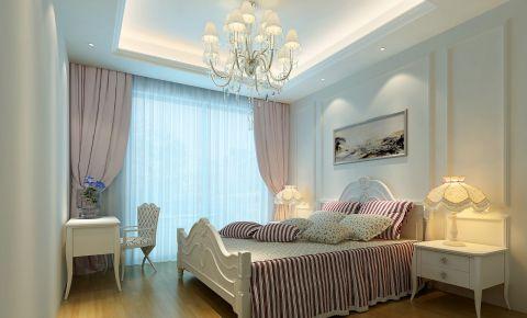 时尚卧室实景图