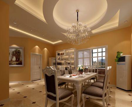 设计精巧餐厅餐桌室内装修图片