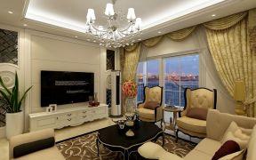 88平简欧风格三室两厅装修效果图