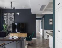 113平混搭风格三居室装修效果图