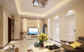 97平现代风格三居室装修效果图