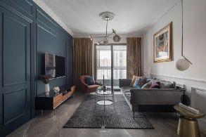 2021法式90平米装饰设计 2021法式二居室装修设计